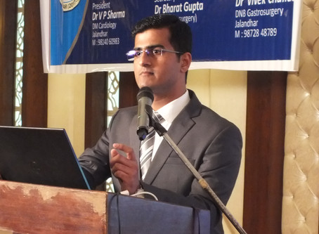 Lecture on TB spine at Standing Straight - SGL CME Jalandhar