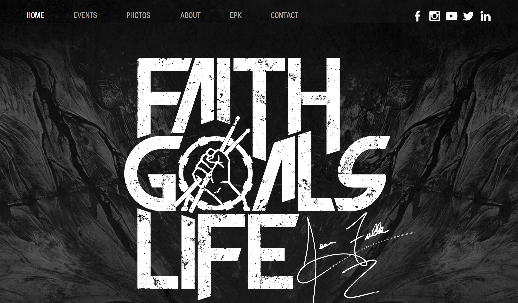 Faith Goals Life Website