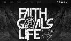 Faith Goals Life Website