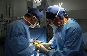 Dr. Mayur Kardile performing Vertebral column resection surgery