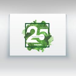O'Toole Design 25th Logo