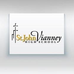 St. John Vianney High School Primary Logo