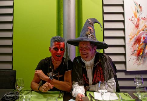 Halloween soirée Le 7