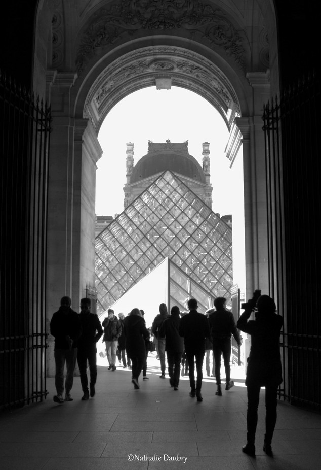Pyramide - Louvre