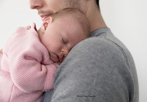 Reportage lifestyle avec Adrien et bébé