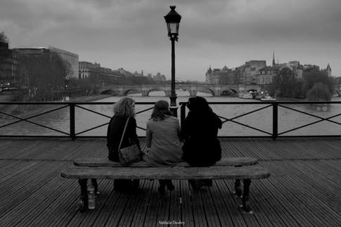 Les amies - Pont des Arts