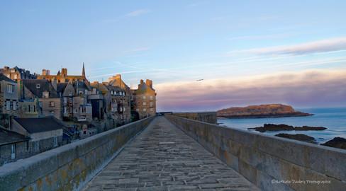 Un matin à St Malo