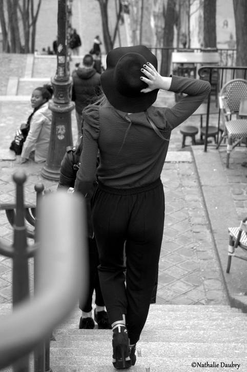 Les marches de Montmartre