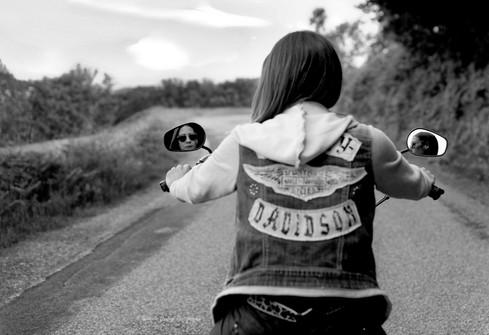 Amandine en Harley