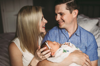 Fishers Indiana | Newborn Photographer | In-home Lifestyle Session