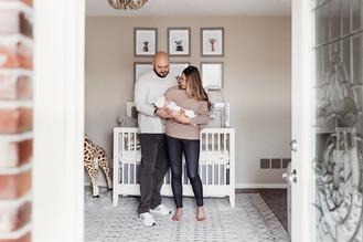 Indianapolis, Indiana | Newborn Photographer | In-home Lifestyle Beau