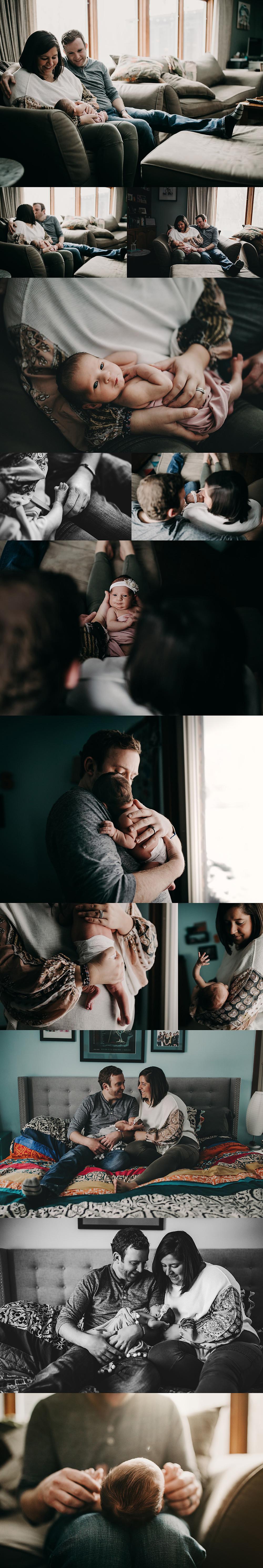 Indianapolis Newborn Family Photographer | Alex Morris Design