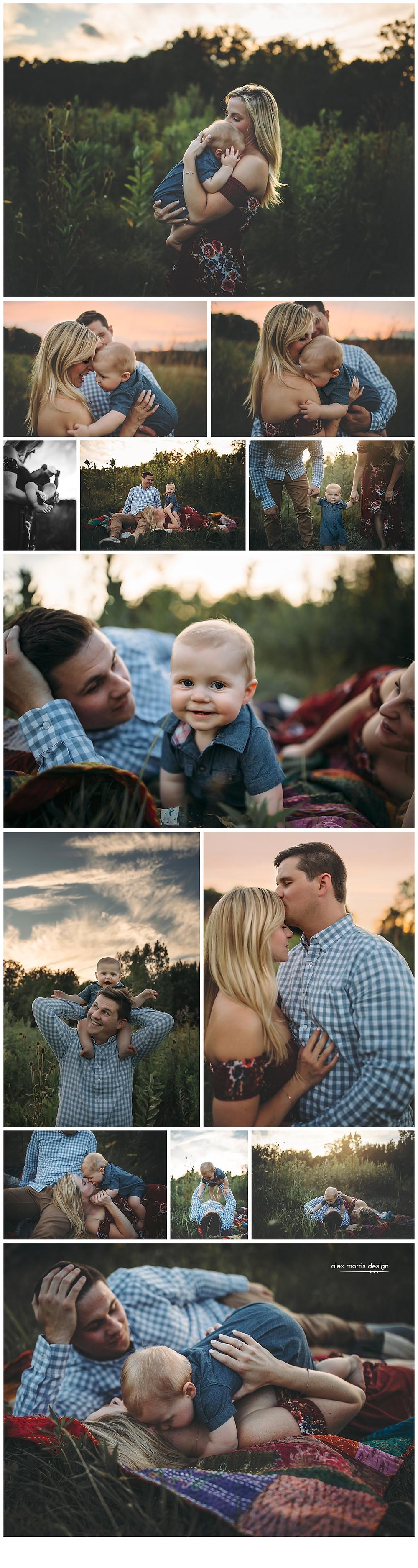 Indianapolis Family Photographer, Alex Morris Design