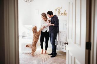 Indianapolis, Indiana | Newborn Photographer | In-home Lifestyle | Estelle