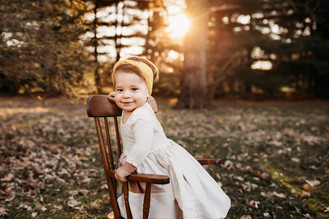 Indianapolis Family Photographer | Indiana Outdoor Sunset Session