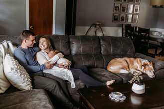 Indianapolis, Indiana   Newborn Photographer   In-home Lifestyle   Grayson