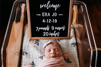 Indianapolis Newborn Photographer | Fresh 48 Hospital Session | St. Vincent Carmel