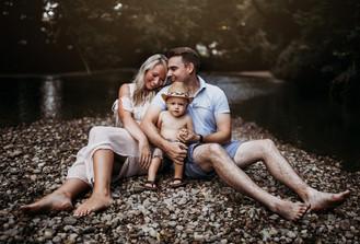 Indianapolis Family Photographer | Lifestyle Creek Session