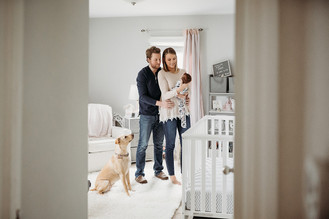 Indianapolis, Indiana | Newborn Photographer | In-home Lifestyle