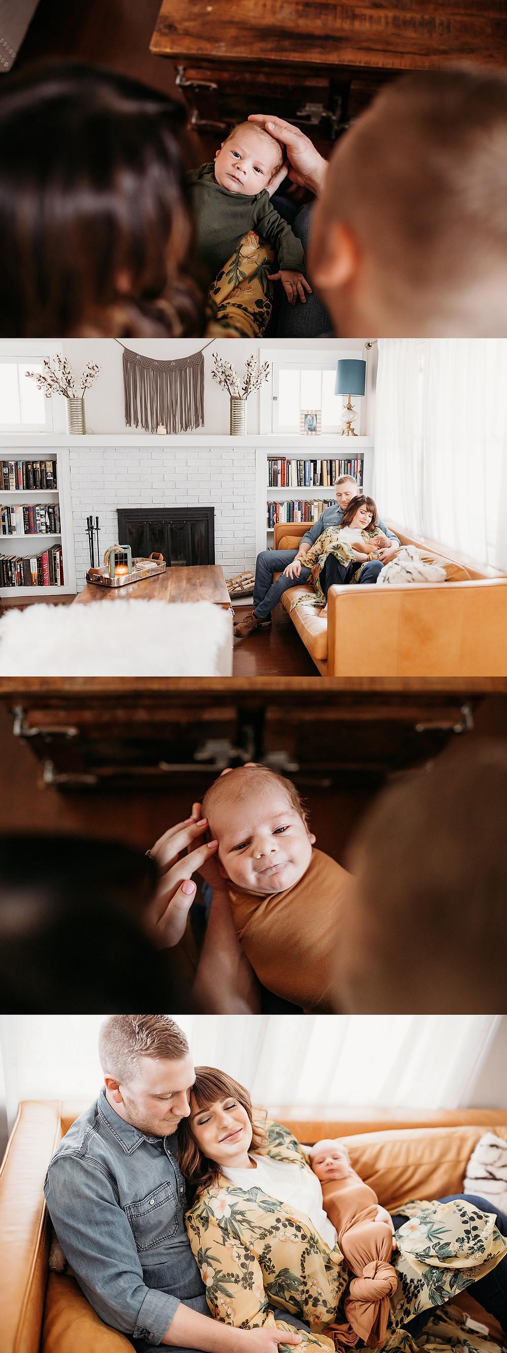 Indianapolis Indiana Newborn Lifestyle Photographer, Alex Morris Design