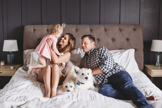 Indianapolis Family Photographer | In-Home Lifestyle Photography Session