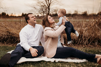 Indianapolis Family Photographer | Indiana Outdoor Session | Carmel
