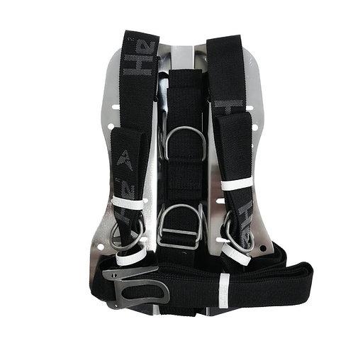 Regular Kit Edelstahl Backplate & Harness Lite | SS-304