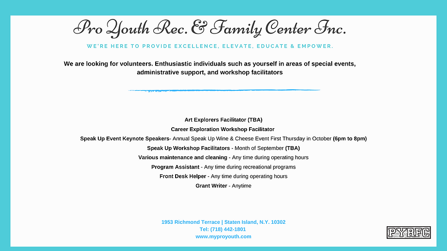 Pro Youyth Rec. & Family Center Inc. (1)