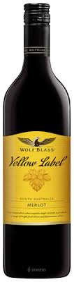 YELLOW LABEL WOLF BLASS MERLOT 750ML