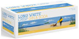 LONG WHITE GIN & SODA 10 PACK CANS