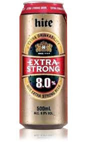 Hite Strong 8% 6PACK CANS 500ML