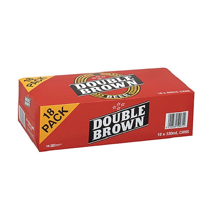 Double Brown 18 pack 330ml