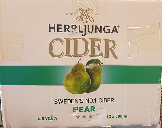 HERRLJUNGA PEAR CIDER 500ML 12PACK