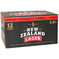 NEW ZEALAND LAGER 12X440ML