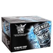 SMIRNOFF BLACK 7% 12PK CANS