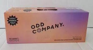 ODD COMPANY VODKA 5%10PK CANS