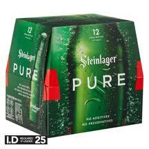 Steinlager Pure 12pk bottles