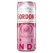 GONDON PINK GIN 7% 6PK CANS