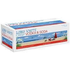 LONG WHITEVODKA & SODA 10 PACK CANS