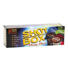 Shot box 1 footer 12 shots mix