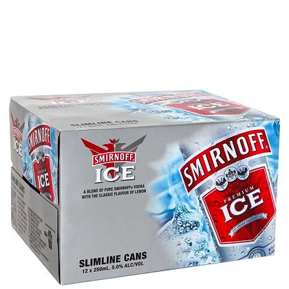 Smirnoff Red 5% 12pk cans