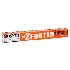 2 footer shots 12pk