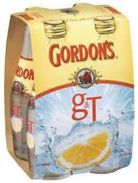 GORDON GIN & TONIC 7% 4PK BOTTLES