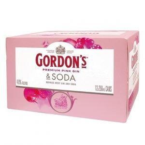 Gordon Pink 12pk cans