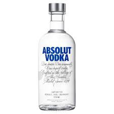 ABSOLUTE VODKA 350ML