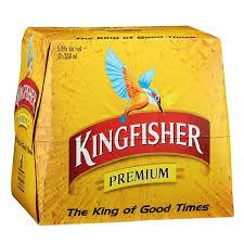 Kingfisher 5%12 pack bottles