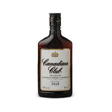 Canadian Club 375ml flask