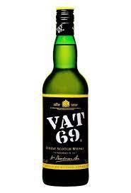VAT69 WHISKY 1LITRE