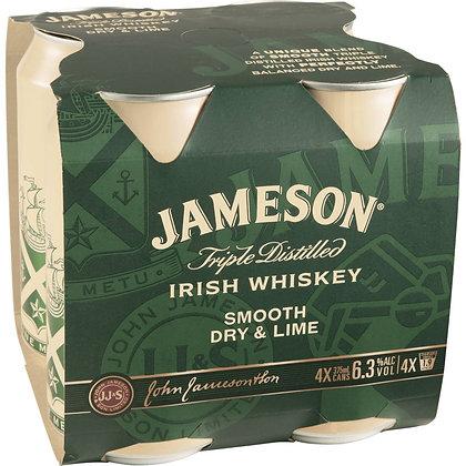 Jameson Irish Whiskey 4pk cans