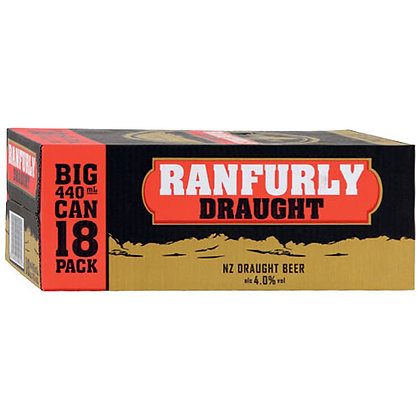 Ranfurly Draught 440ml 18pk